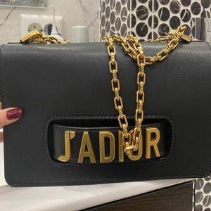 Dior jadior black gold medium size